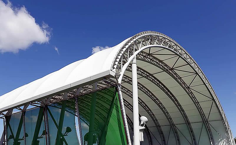 Las Tenso Estructuras son coberturas arquitectónicas basadas en estructuras metálicas...